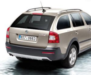 Skoda Octavia Scout 2.0 TDI photo 3