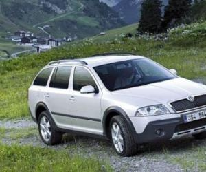 Skoda Octavia Scout 2.0 TDI photo 11
