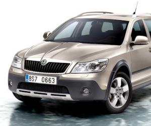 Skoda Octavia Scout 2.0 TDI photo 12