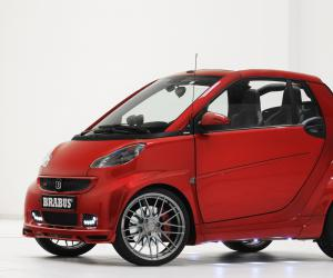 Smart fortwo Cabrio edition red image #10