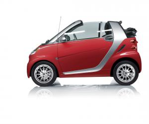 Smart fortwo Cabrio edition red photo 11