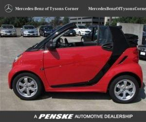 Smart fortwo Cabrio edition red image #12