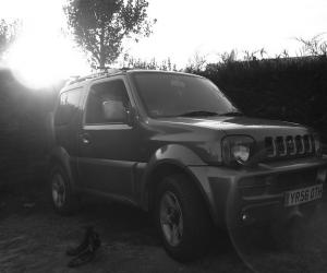 Suzuki Jimny Black & White photo 6
