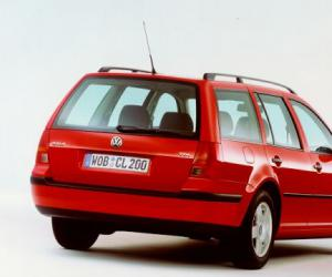 VW Golf Variant 1.9 TDI image #8