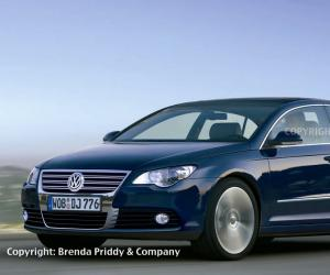 VW Passat Coupe photo 2