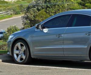 VW Passat Coupe photo 7