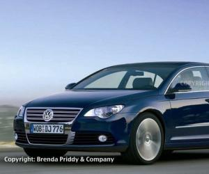 VW Passat Coupe photo 18