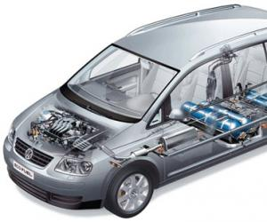 VW Touran EcoFuel photo 3